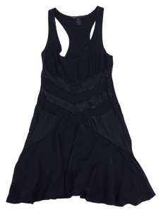 Marc Jacobs short dress Black Silk Heart Sleeveless on Tradesy