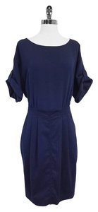 Burberry short dress Navy Short Sleeve on Tradesy