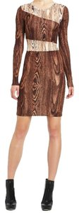 BCBGMAXAZRIA Bodycon Festive Dance Booties Dress