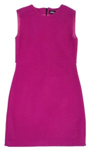 Kate Spade short dress Magenta Wool Sleeveless on Tradesy