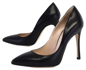 Miu Miu Black Leather Pumps