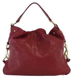Rebecca Minkoff Red Leather Shoulder Bag