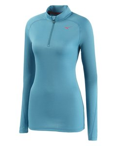 Mizuno Caribbean Sea Breath Thermo Base Layer Pullover Women