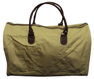Color by Amber Large Canvas Zippered Tote Luggage Guru Canvas Travel Bag