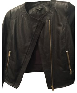 Ann Taylor Leather Jacket Blac Leather Jacket