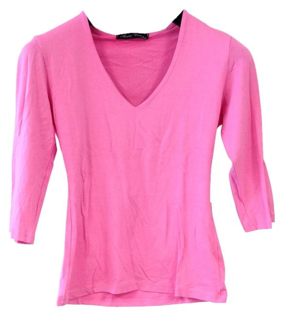 Rendez-Vous Paris France French Classic T Shirt Malabar Summer Pink