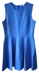 Diane von Furstenberg short dress Royal Blue Exclusive Classic on Tradesy