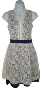 Modcloth short dress Lace Mini on Tradesy
