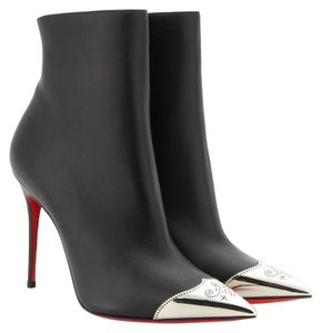 Christian Louboutin Calamijane Booty Black Boots