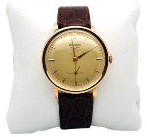 Longines Vintage LONGINES 18k Gold Men's Watch