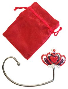 Purse Hook; Queen of Hearts [ Roxanne Anjou Closet ]