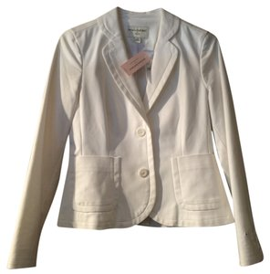 Other NWT Banana Republic Petite Snow White Suit dress Jacket 4P
