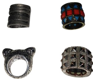 Urban Outfitters Lot of urban decay rings!!