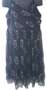Amy Byer short dress Black and Gold Lace Ruffle Girls Size 8 Summer on Tradesy
