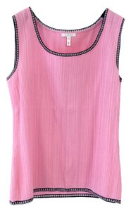 Escada Summer Knits Premium Top Pink, Black & White