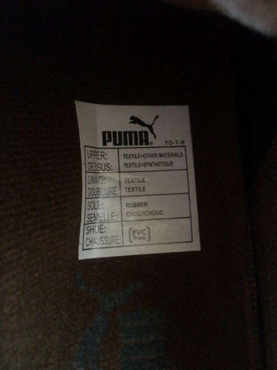 Puma Leather Brown Athletic