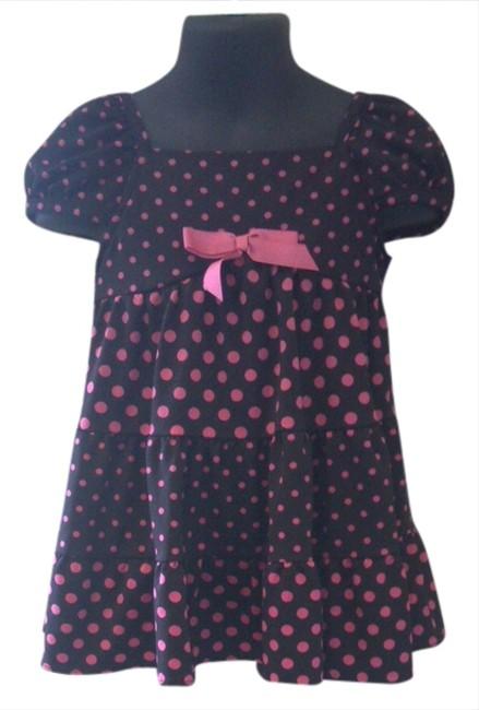 Other short dress black with pink polka dots Dot Summer 3t Toddlers on Tradesy