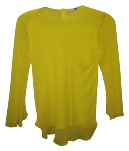 Zara Top Yellow