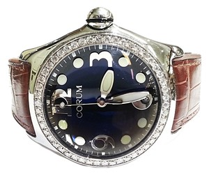 Corum Corum Bubble Boutique Watch With Aftermarket Diamond Bezel 2.50 Carats TW