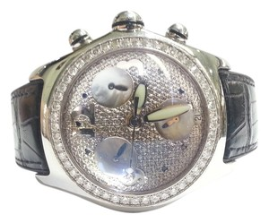 Corum CORUM Bubble Boutique Watch With 3.50 Ct TW Aftermarket Diamond Bezel & Dial