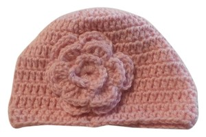 Other NEW LITLE GIRL Crochet Hat - Crochet Beanie - Crochet Hat PINK 14X6 NCHES
