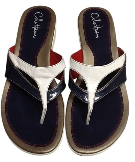 Preload https://item2.tradesy.com/images/cole-haan-blue-and-white-with-a-little-red-nike-air-sandals-size-us-11-1008841-0-0.jpg?width=440&height=440
