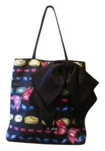 Brighton Satchel Shoulder Tote in Black Multi