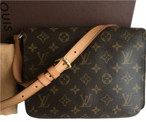 Louis Vuitton Monogram Leather Shoulder Bag