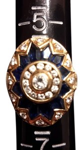 Other *SALE*- 18K yellow gold diamonds sapphires