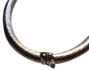 SS Bangle w/Security Clasp