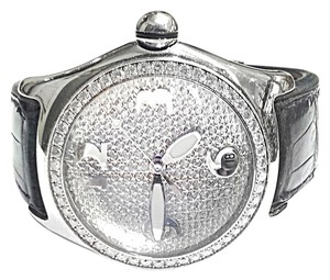 Corum CORUM Bubble Boutique Watch With 4.50 Ct TW Aftermarket Diamond Bezel & Dial