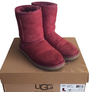 UGG Australia red Boots
