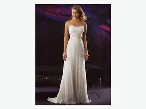 Demetrios Cr179 Wedding Dress