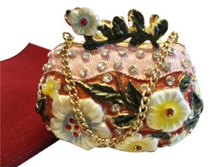 Other Jeweled Mint / Pill Box ; Floral Purse by Serell'e [ Roxanne Anjou Closet ]