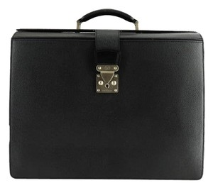 Louis Vuitton Briefcase Robusto M30024 Black Travel Bag