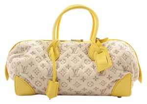 Louis Vuitton Speedy Satchel in Yellow
