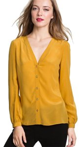 Tory Burch Top Golden Rod