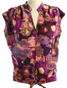 Miss Me Mm Couture Tie Front Top Purple, Pink, Citron, +