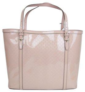 Gucci Nice Patent Tote in Pink