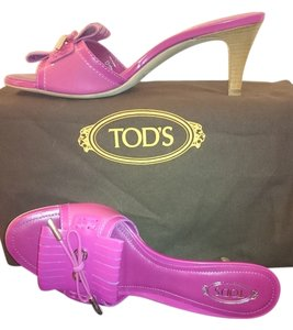 Tod's Leather Pink Sandals