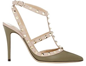 Valentino olive green Pumps