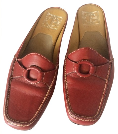 Cole Haan Leather Red Flats