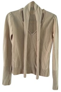 BCBGMAXAZRIA Holiday Cozy Comfortable Cashmere Luxury V-neck Evening Longsleeve Edgy Sweater