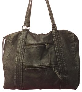 Converse Distressed Leatherette Laptop Computer Satchel