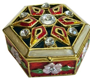 Other Jeweled Mint / Pill Box ; Imperial [ Roxanne Anjou Closet ]