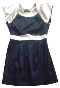 French Connection short dress Navy Blue Nautical on Tradesy