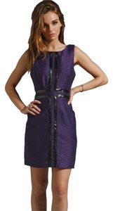 Tracy Reese Snakeskin Snake Sheath Dress