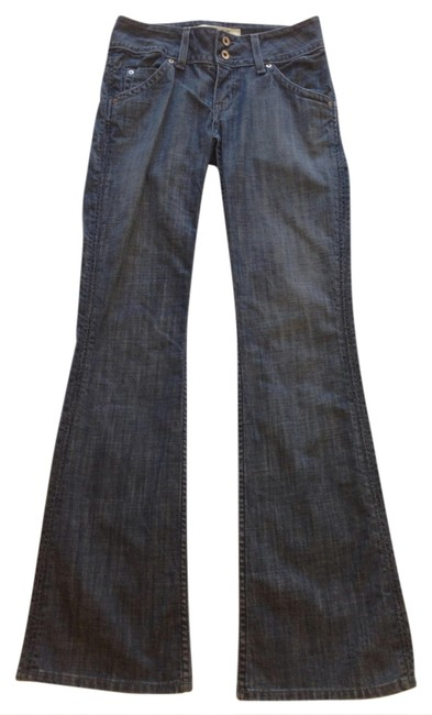 Hudson Boot Cut Jeans-Distressed