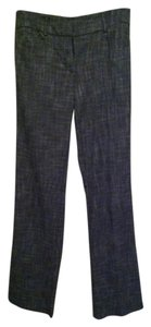 New York & Company Boot Cut Pants Gray/Black