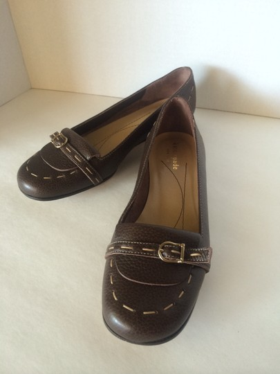 Kate Spade Leather Brown Flats